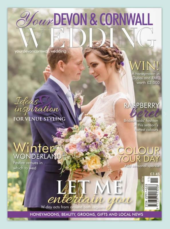 Your Devon & Cornwall Wedding Magazine Cover