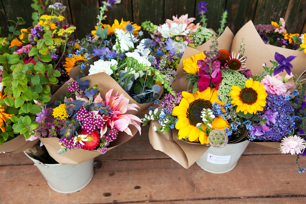 Bunches of flowers to buy